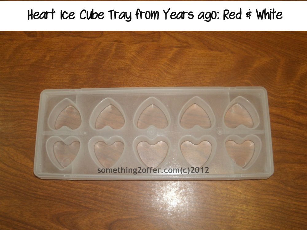 heart ice cube tray