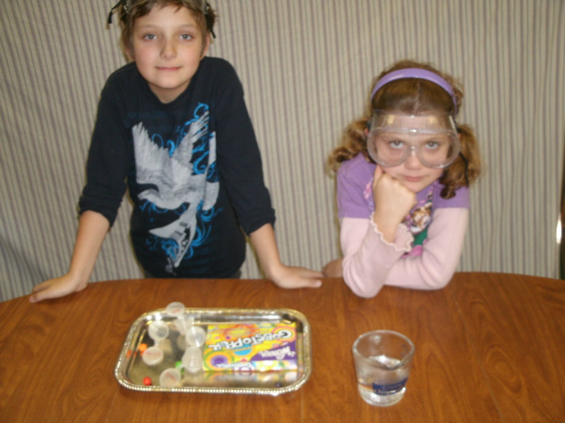 little scientists candy experiments