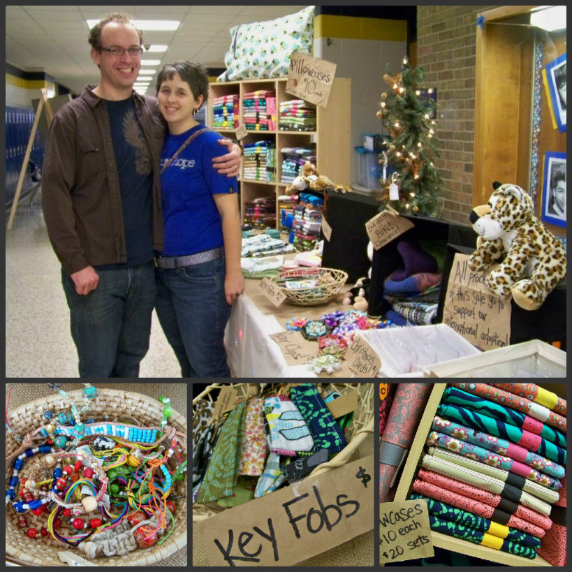 Adopting Nations Etsy Shop Craft Fair Jen Ruble Jeremy Ruble