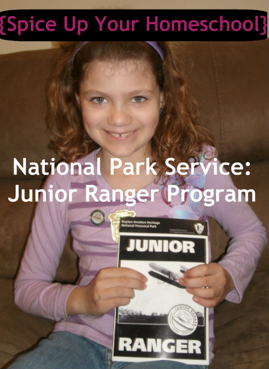 {Spice Up Your Homeschool} National Park Service Junior Ranger Program