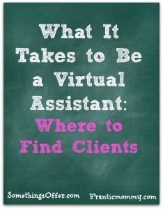 Virtual Assistant finding clients