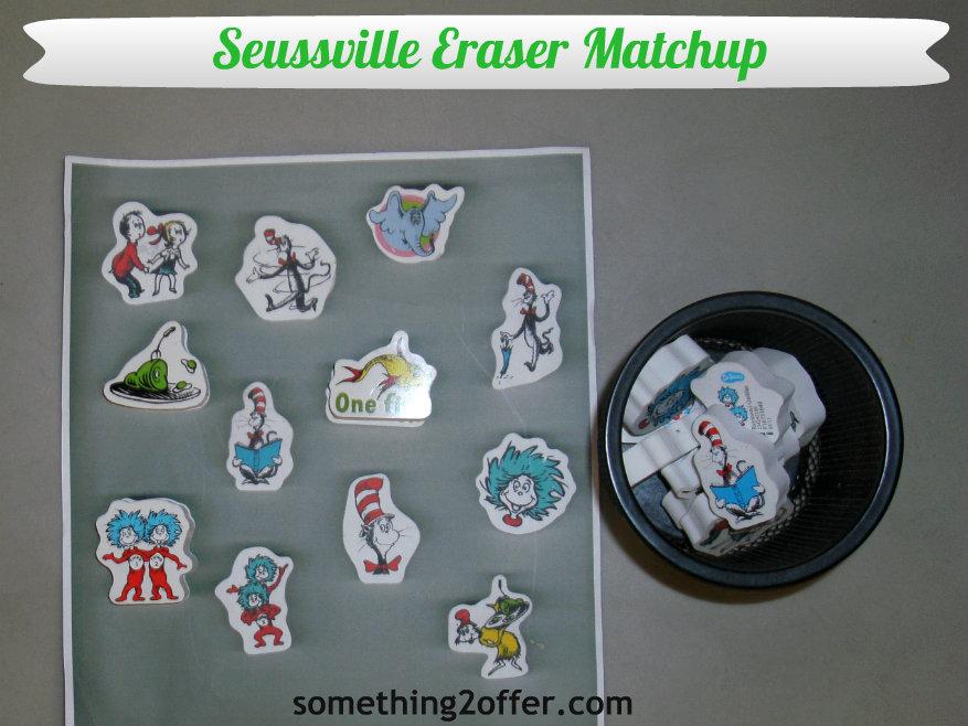 Seussville Eraser match