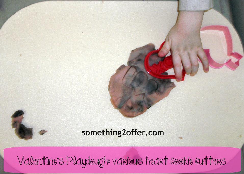 valentine's play dough