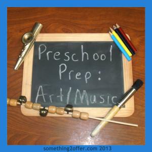 preschool prep art and music