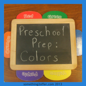 Preschool Prep Learning Colors