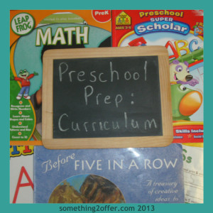 preschool prep curriculum