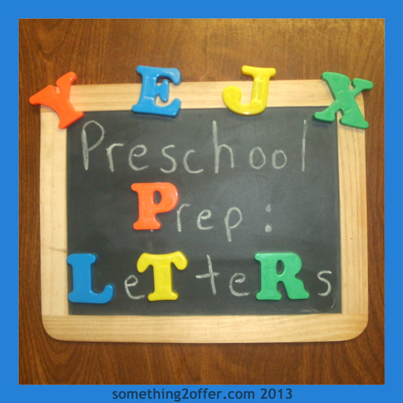 Preschool Prep Learning Letters