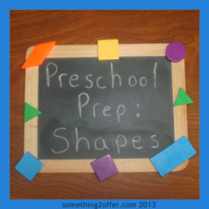 Preschool Prep Learning Shapes