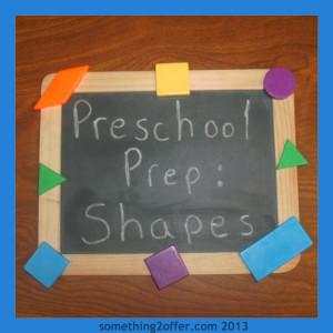 Preschool Prep Learning Shapes