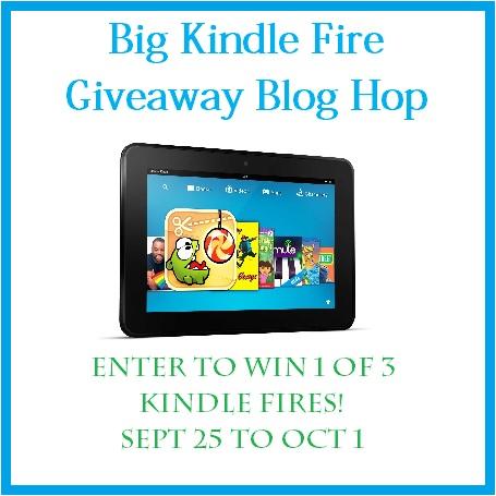 Big Kindle Fire giveaway