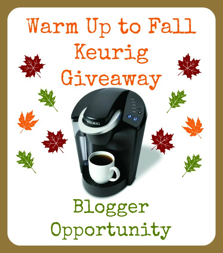 Keurig Giveaway Blogger Opportunity