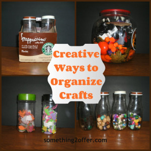 creative craft organize Collage