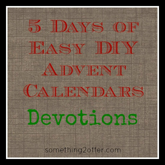5 days DIYdevotions
