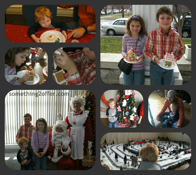 Christmas Open House Collage