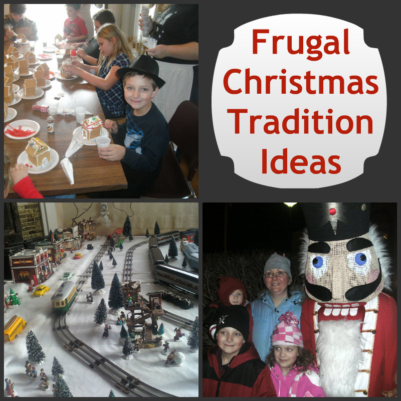 frugal Christmas Tradition Ideas Collage