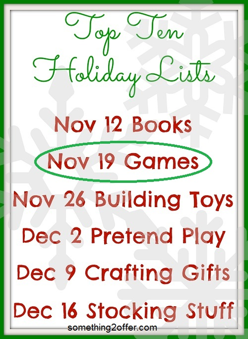 top ten holiday lists dates games