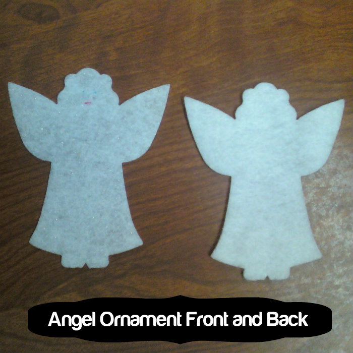 angel front and back