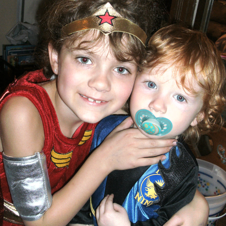 Wonder Women and Little Ninja Costumes