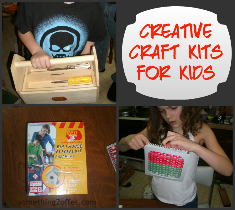 Creative craft kits for kids top ten holiday lists for Best craft kits for kids