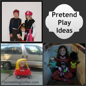 pretend play Collage