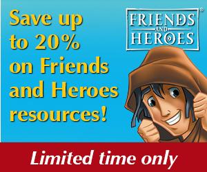 Friends & Heroes sale