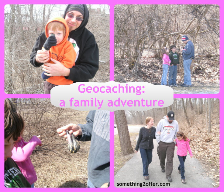 geocaching adventure Collage