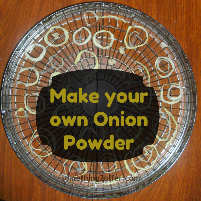 how to make onion powder with oven