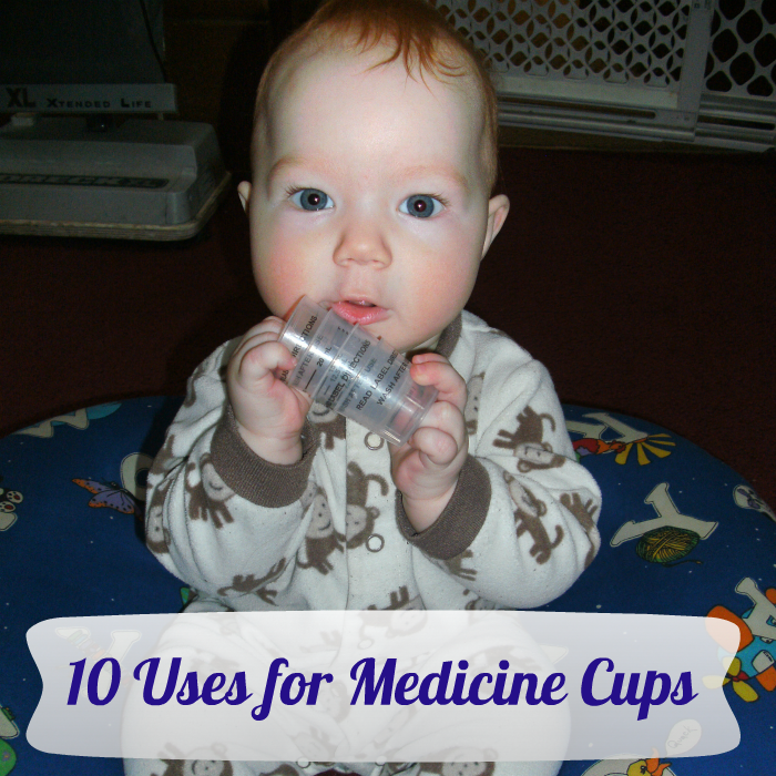 uses for Medicine Cups