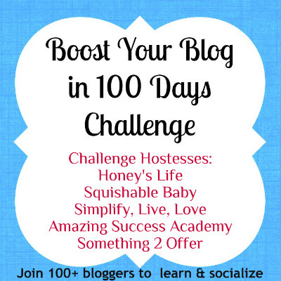 boost blog in 100 days