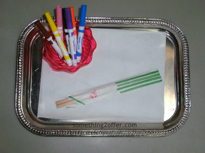 decorating chopsticks