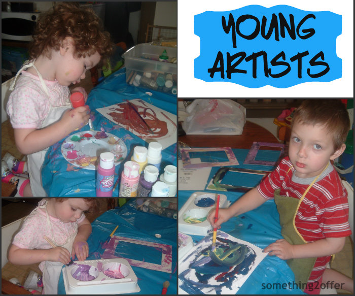 young artists Collage