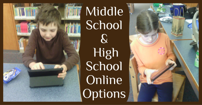 Middle School & High School Online Homeschool Communities