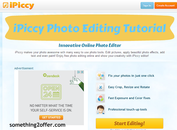 this iPiccy photo editing tutorial for bloggers. Thank you Emma