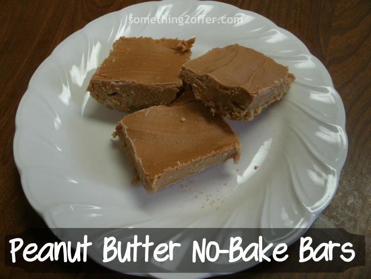 Peanut Butter#nobake dessert bars