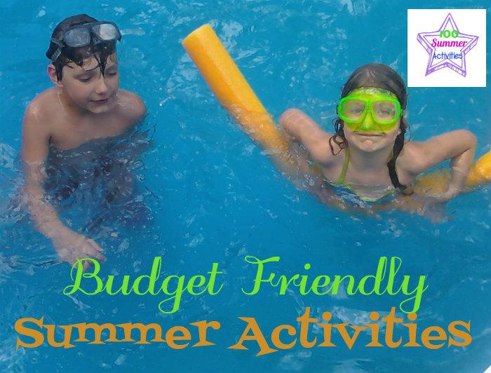 100 budget friendly Summer activties