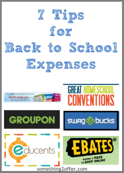 tips for Back to School Expenses