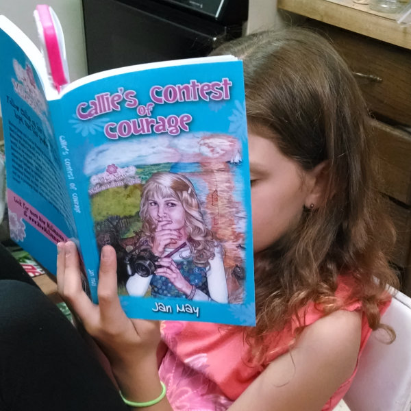 Callie's Contest of Courage Book by Jan May