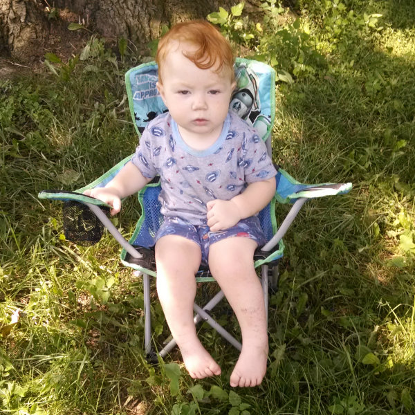 camp chair baby