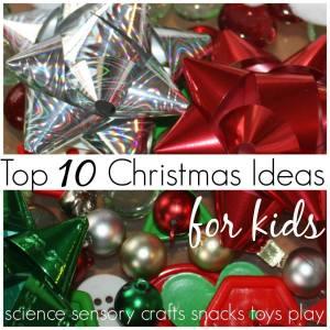 10 ten Christmas Kids