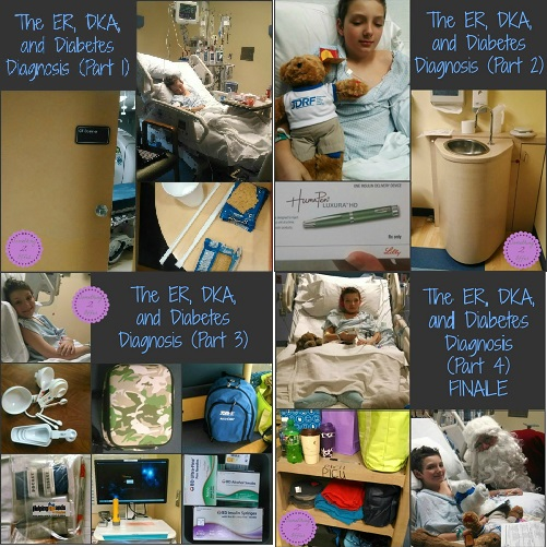 ER, DKA Hospital all four days