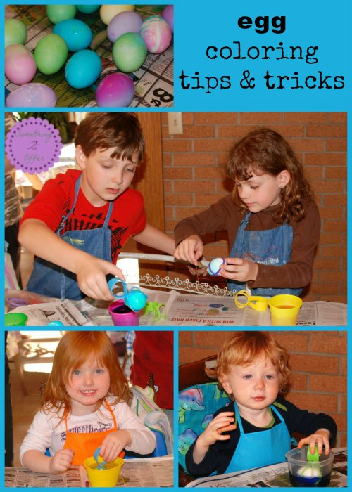 Egg Coloring Tips and Tricks