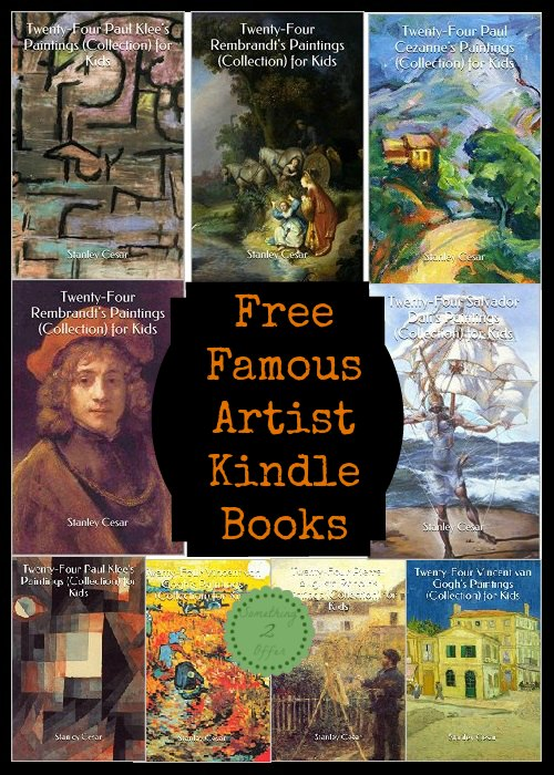 famous artist collection kindle books