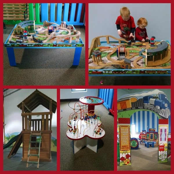 EnterTRAINment Junction Play area