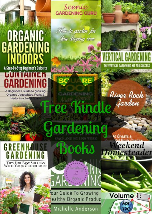 Free Kindle Gardening Books