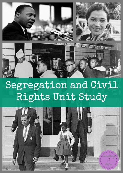 Segregation and Civil Rights Unit Study