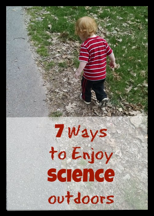 7 ways to enjoy Science outdoors