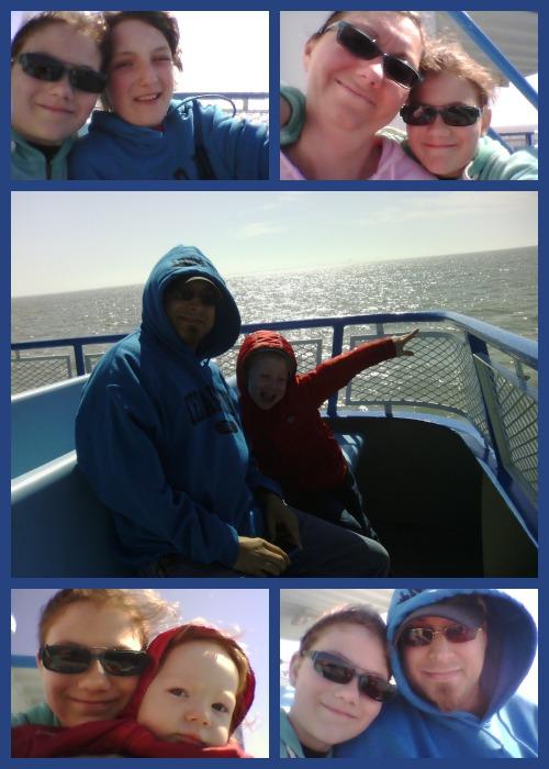 Miller Ferry Selfies