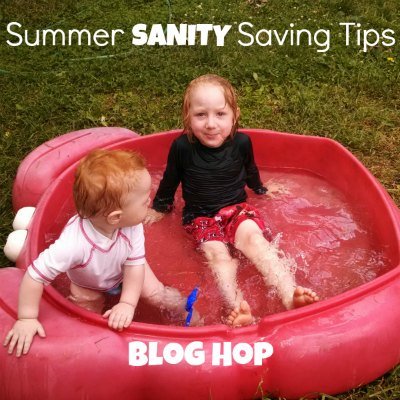 Summer Sanity Saving Tips Blog Hop