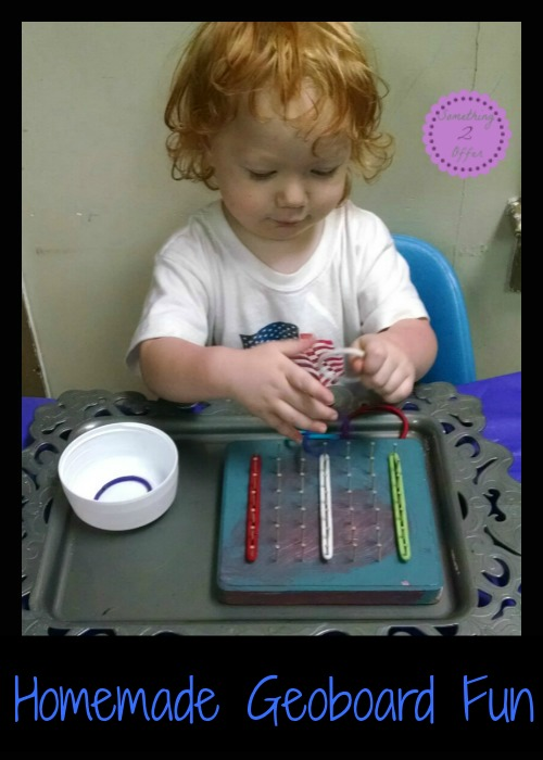 Homemade Geoboard Fun