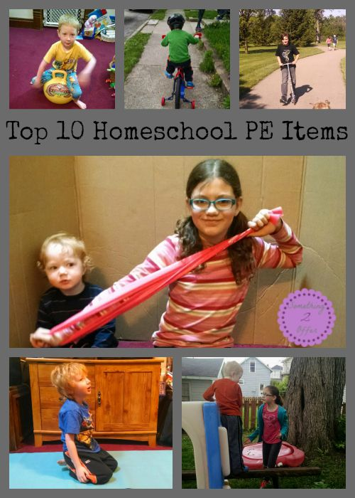 Top 10 Homeschool PE Items